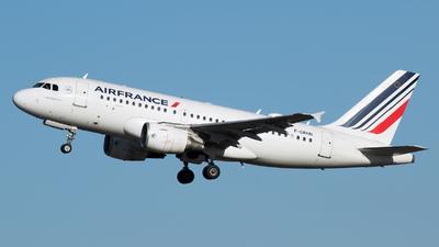 A picture of FGRHN - Airbus A319111 - Air France - © RAFAL KUKOWSKI