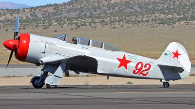 NX25YK - Yakovlev Yak-11 Moose - Private