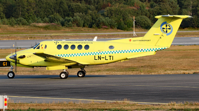 LN-LTI - Beechcraft B200 Super King Air - Lufttransport