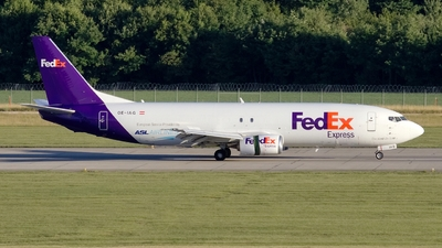 A picture of OEIAG - Boeing 7374Q8(SF) - FedEx - © AirBusAl