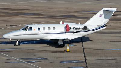 G-KION - Cessna 525 CitationJet 1 - Private