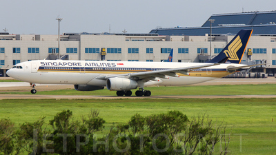 9V-STB - Airbus A330-343 - Singapore Airlines