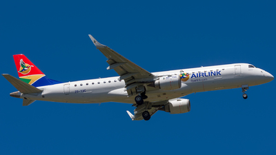 ZS-YAC - Embraer 190-100IGW - Airlink