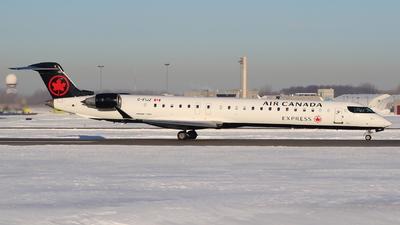 A picture of CFIJZ - Mitsubishi CRJ900LR - Air Canada - © Andriy Yegorov
