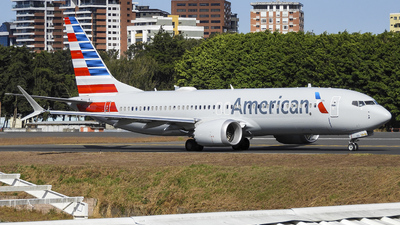 N323SG - Boeing 737-8 MAX - American Airlines