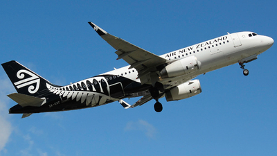 ZK-OXC - Airbus A320-232 - Air New Zealand