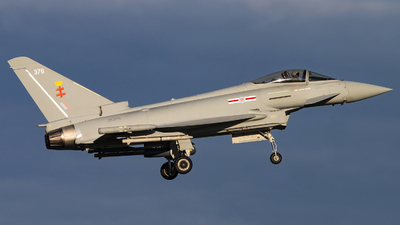 ZK376 - Eurofighter Typhoon FGR.4 - United Kingdom - Royal Air Force (RAF)