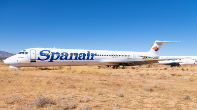 SE-RJH - McDonnell Douglas MD-82 - Spanair