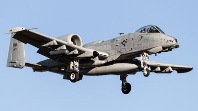 81-0976 - Fairchild A-10C Thunderbolt II - United States - US Air Force (USAF)