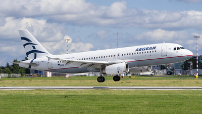 A picture of SXDGC - Airbus A320232 - Aegean Airlines - © Martin Bernict