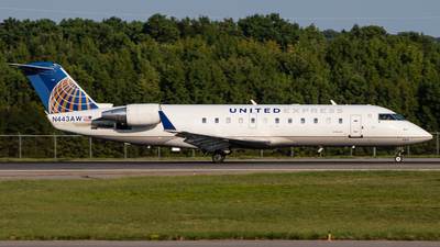 N443AW - Bombardier CRJ-200ER - United Express (Air Wisconsin)