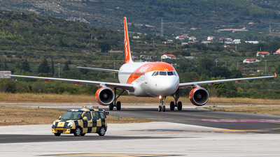 A picture of GEZUR - Airbus A320214 - easyJet - © James Dinsdale