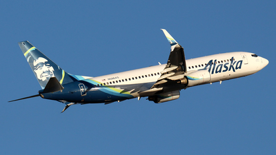 A picture of N586AS - Boeing 737890 - Alaska Airlines - © Huy Do