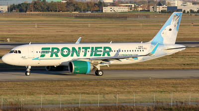 F-WWIO - Airbus A320-251N - Frontier Airlines