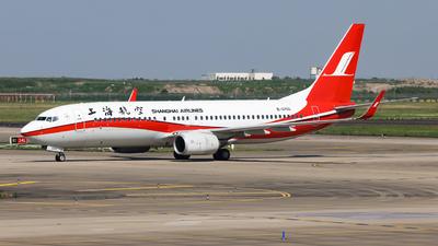B-5703 - Boeing 737-89P - Shanghai Airlines