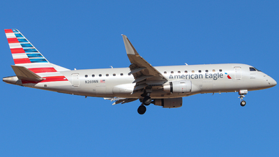 A picture of N269NN - Embraer E175LR - American Airlines - © Bailey B