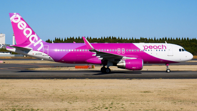 JA13VA - Airbus A320-214 - Peach Aviation