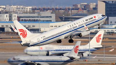 B-7892 - Boeing 737-89L - Air China