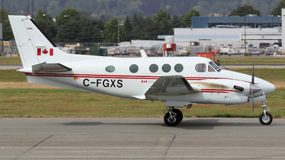 A picture of CFGXS - Beech C90A King Air - Transport Canada - © Sandra