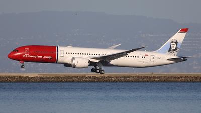 A picture of GCKWF - Boeing 7879 Dreamliner - Norwegian - © Tomasz Habaj