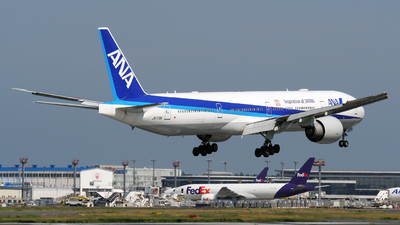 A picture of JA779A - Boeing 777381(ER) - All Nippon Airways - © tomobile