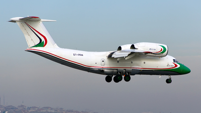 ST-PRM - Antonov An-72-100D - Sudan - Government