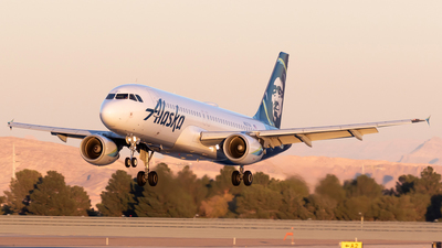 N627VA - Airbus A320-214 - Alaska Airlines