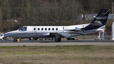 N561CF - Cessna 560 Citation Ultra - Private