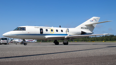A picture of N524NA - Dassault Falcon 205 - [4112110] - © CChuang