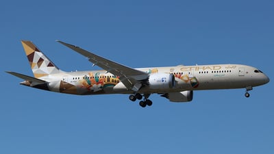 A6-BLH - Boeing 787-9 Dreamliner - Etihad Airways
