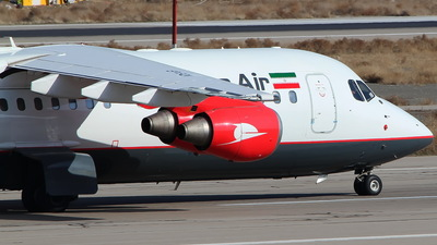 EP-FQV - British Aerospace Avro RJ100 - Qeshm Air