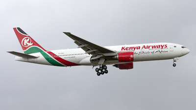 5Y-KQU - Boeing 777-2U8(ER) - Kenya Airways