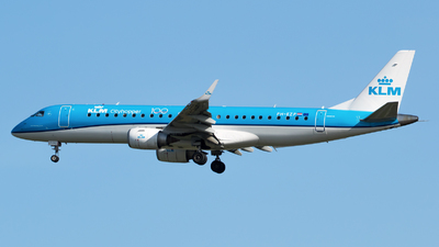 A picture of PHEZP - Embraer E190STD - KLM - © RAFAL KUKOWSKI