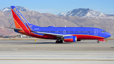 A picture of N406WN - Boeing 7377H4 - Southwest Airlines - © Michael Rodeback