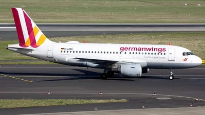 D-AKNK - Airbus A319-112 - Germanwings