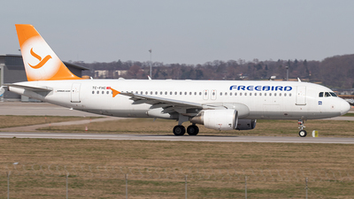 A picture of TCFHC - Airbus A320214 - Freebird Airlines - © Niklas Engel
