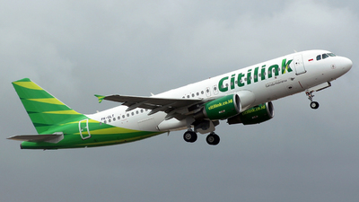 PK-GLT - Airbus A320-214 - Citilink