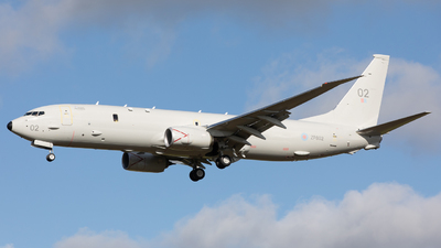 ZP802 - Boeing P-8A Poseidon - United Kingdom - Royal Air Force (RAF)