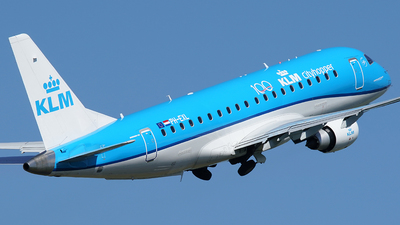 A picture of PHEXL - Embraer E175STD - KLM - © Jan Seler