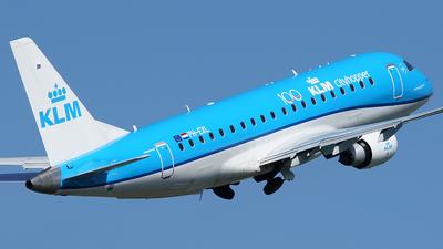 A picture of PHEXL - Embraer E175STD - KLM - © Jan Seler