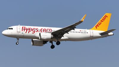 TC-NBU - Airbus A320-251N - Pegasus Airlines