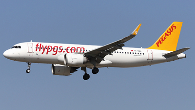 A picture of TCNBU - Airbus A320251N - Pegasus Airlines - © Domi Einert