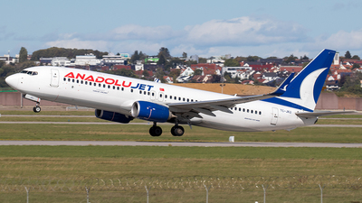 A picture of TCJKU - Boeing 7378Q8 - Turkish Airlines - © Niklas Engel