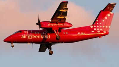 A picture of OYGRO - De Havilland Canada Dash 8200 - Air Greenland - © GoldenWingPix