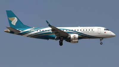 A picture of A4OED - Embraer E175AR - Oman Air - © Timo Frieg