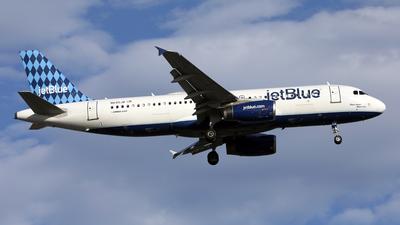 A picture of N645JB - Airbus A320232 - JetBlue Airways - © Len Schwartz