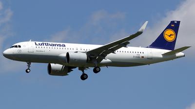 D-AUBG - Airbus A320-271N - Lufthansa