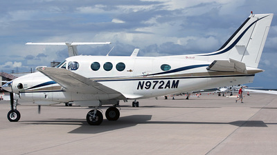 N972AM - Beechcraft C90 King Air - Private
