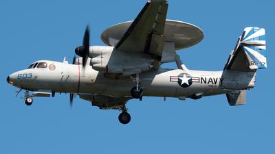 168597 - Grumman E-2D Advanced Hawkeye - United States - US Navy (USN)