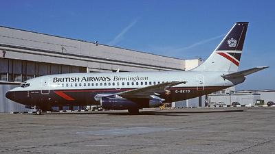 G-BKYD - Boeing 737-236(Adv) - British Airways